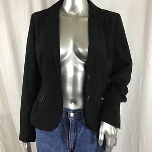 H&M Black Staple Blazer US 8